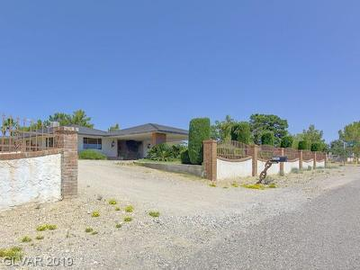 Las Vegas Single Family Home For Sale: 6195 North Grand Canyon Drive