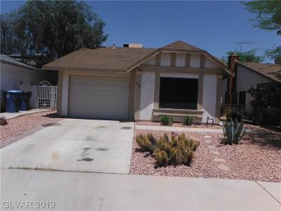 Las Vegas Single Family Home For Sale: 6664 Fredonia Drive