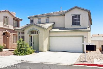 North Las Vegas Single Family Home For Sale: 5402 Lazy Meadow Court