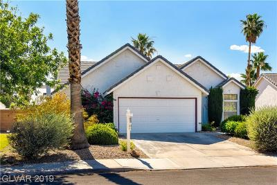 Henderson Single Family Home For Sale: 321 Salinas Drive
