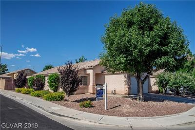 North Las Vegas Single Family Home Under Contract - No Show: 2228 Little Italy Avenue