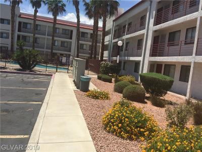 Las Vegas Condo/Townhouse For Sale: 1381 University Avenue #108