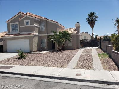 North Las Vegas Single Family Home For Sale: 3603 Greenwick Drive