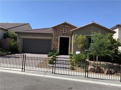 Las Vegas Single Family Home For Sale: 3576 Glasstop Drive