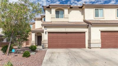 NORTH LAS VEGAS Condo/Townhouse For Sale: 3329 Landing Bird Court