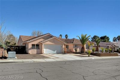 Boulder City Single Family Home For Sale: 1707 St Andrews Court