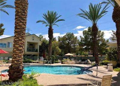 Spring Valley Condo/Townhouse For Sale: 5155 West Tropicana Avenue #2124