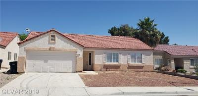 North Las Vegas Single Family Home For Sale: 2418 Inlet Beach Court