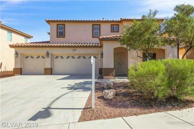 North Las Vegas Single Family Home For Sale: 1612 Dragonfly Ranch Lane