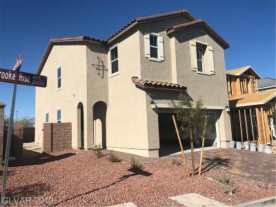 Las Vegas Single Family Home For Sale: 10190 Brooke Rise Avenue