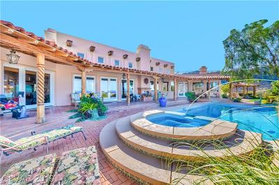 Boulder City Single Family Home For Sale: 835 Temple Rock Court