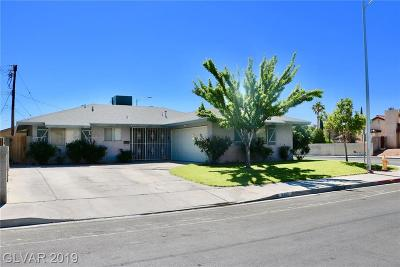 Las Vegas Single Family Home For Sale: 3400 Miramar Drive