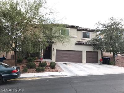 Henderson Single Family Home For Sale: 259 Pioneers Peak Avenue