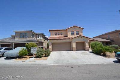 North Las Vegas Single Family Home For Sale: 2104 Alamo Heights Avenue