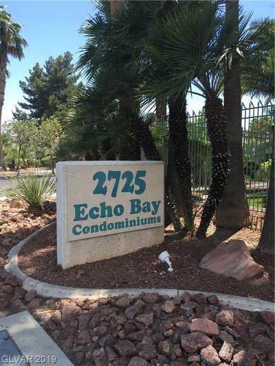 Las Vegas Condo/Townhouse For Sale: 2725 Nellis Boulevard #2117
