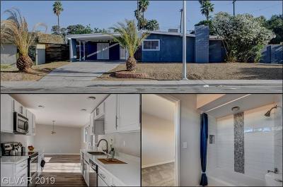Las Vegas Single Family Home For Sale: 1919 Caballero Way