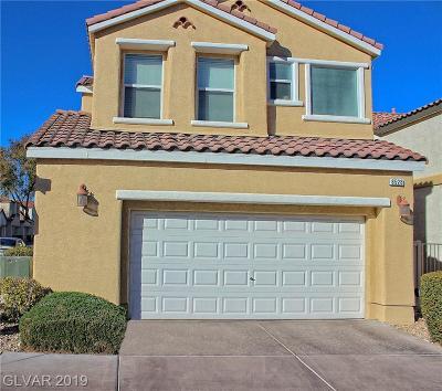 Las Vegas Single Family Home For Sale: 8528 Myrsine Court