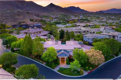 Boulder City, Henderson, Las Vegas, North Las Vegas Single Family Home For Sale: 18 Misty Peaks Court