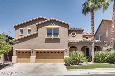 Henderson NV Single Family Home For Sale: $699,862