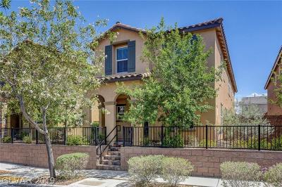 HENDERSON Single Family Home For Sale: 3053 Paladi Avenue
