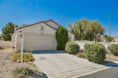 North Las Vegas Single Family Home Under Contract - No Show: 6629 Mammoth Canyon Place