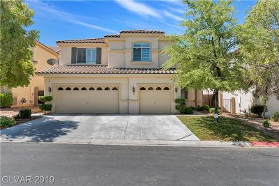 Las Vegas NV Single Family Home For Sale: $445,000