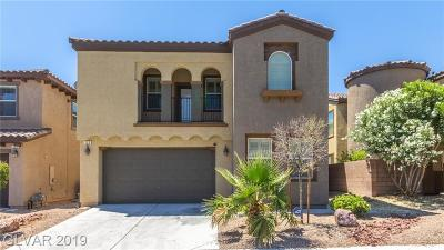 LAS VEGAS Single Family Home For Sale: 123 Honors Course Drive