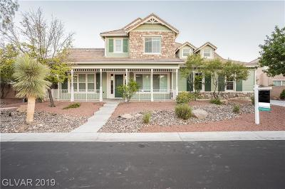 Las Vegas Single Family Home For Auction: 7922 Lookout Rock Circle