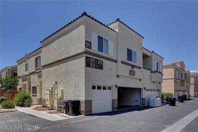 NORTH LAS VEGAS Condo/Townhouse For Sale: 6321 Blowing Sky Street #102