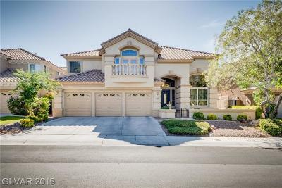 LAS VEGAS Single Family Home For Sale: 1905 Corta Bella Drive