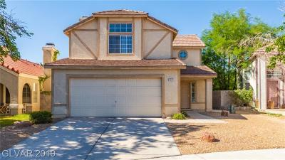 Las Vegas Single Family Home For Sale: 6237 Warm River Road