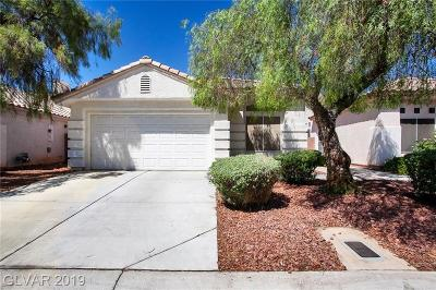 Las Vegas Single Family Home For Sale: 3333 Michelangelo Court