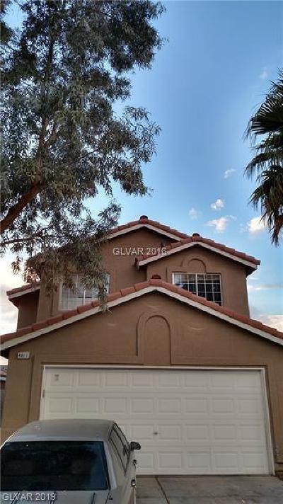 Single Family Home For Sale: 4611 Skybolt Street