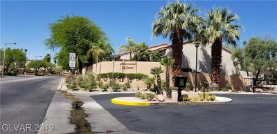 Las Vegas NV Condo/Townhouse For Sale: $375,000