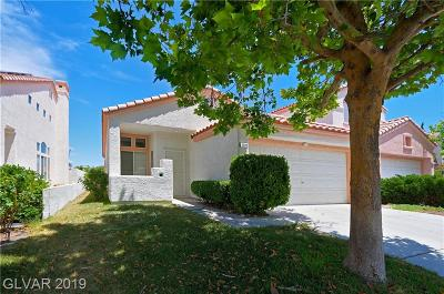 Las Vegas Single Family Home For Sale: 2220 Warm Walnut Drive