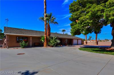LAS VEGAS Single Family Home For Sale: 5165 Harrison Drive