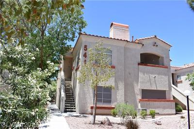 Las Vegas Condo/Townhouse For Sale: 541 Indian Bluff Street #202