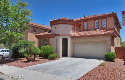 Las Vegas Single Family Home For Sale: 538 Los Hermanos Street