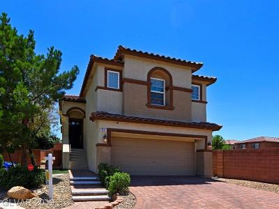 Las Vegas Single Family Home For Sale: 51 Dark Creek Avenue