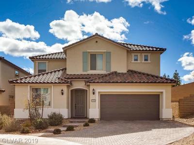 Las Vegas Single Family Home For Sale: 10001 Celestial Cliffs Avenue