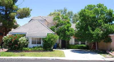 Las Vegas Single Family Home For Sale: 2620 Cathedral Lane