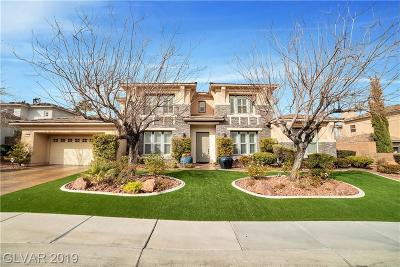 Henderson Single Family Home For Sale: 1712 Choice Hills Drive