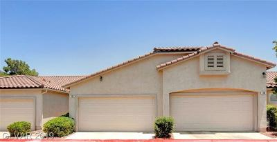 Green Valley South Condo/Townhouse For Sale: 190 Tapatio Street