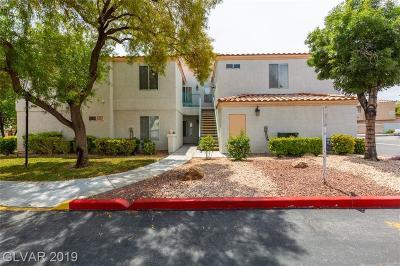 Las Vegas Condo/Townhouse For Sale: 8452 Boseck Drive #287