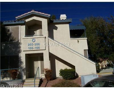 Las Vegas Condo/Townhouse For Sale: 3425 East Russell Road #155