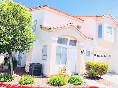 Las Vegas Condo/Townhouse For Sale: 6833 Coral Rock Drive