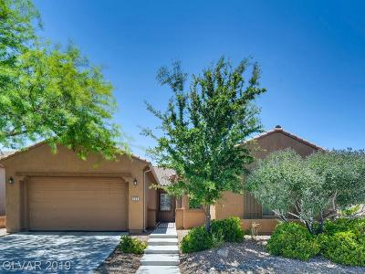 Henderson Single Family Home For Sale: 229 Pancho Via Drive