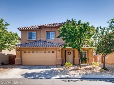 North Las Vegas Single Family Home For Sale: 6717 Yellowhammer Place