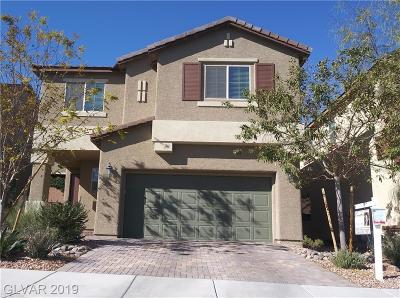 Las Vegas Single Family Home For Sale: 3241 Grayson Lake Court
