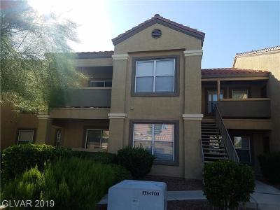 Las Vegas Condo/Townhouse For Sale: 2300 Silverado Ranch Boulevard #1154